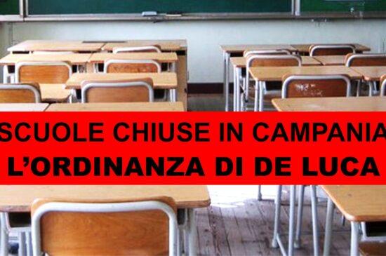 Scuola chiusa dal 16 al 30 ottobre