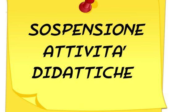 Ordinanza comunale n°13 – sospensione attività didattiche in presenza con decorrenza dal 25 novembre al 6 dicembre 2020